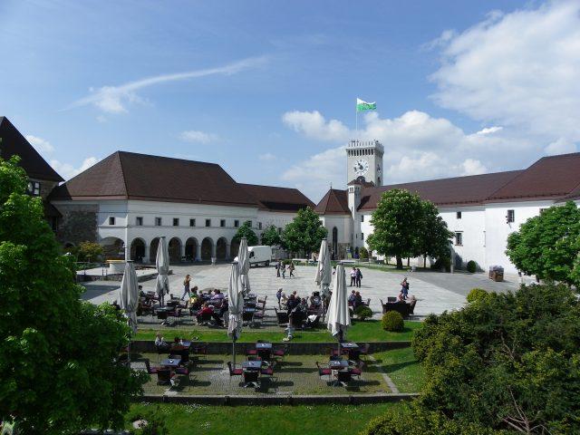 Castelo de Liubliana   Eslovênia   Uma brasileira na Eslovênia