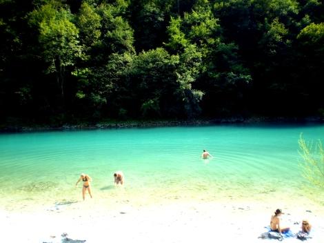 Rio Soča, Eslovênia