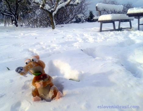 inverno na eslovenia