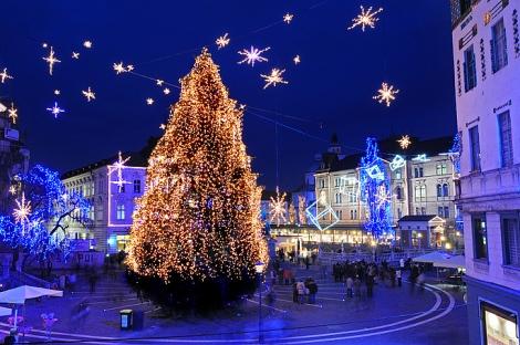 Natal em Liubliana