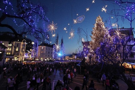 Fim de ano em Liubliana