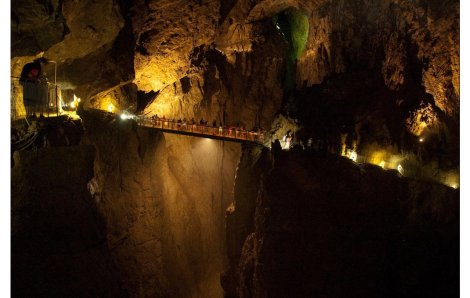 Cavernas de Škocjan